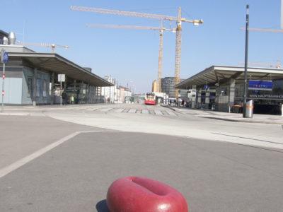 S1, Hauptbahnhof, Epoxy, 70x45x25cm, 2004