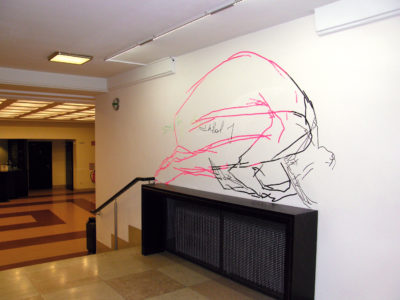 Wallpainting, 200x150cm, 2014