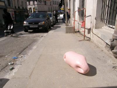 Rue-de-Piat, Epoxy, 55x25x25cm, 2017