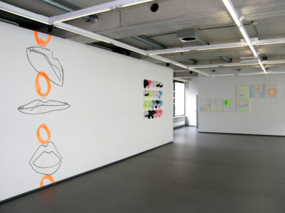 Whoopi 16, Wallpaiting 14.1, Exhibition View