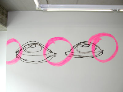 Whoopi 20,Wallpainting,300x100cm