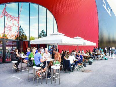 Restaurant view Halle 11