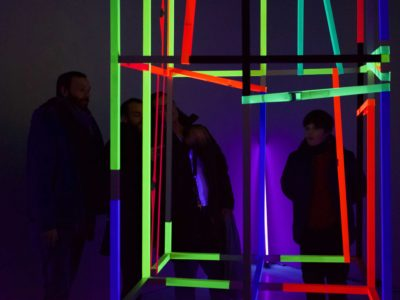 Cage, Exhibition viewers