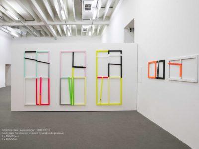 Exhibition View, A Passenger, Salzburger Kunstverein 2018/19